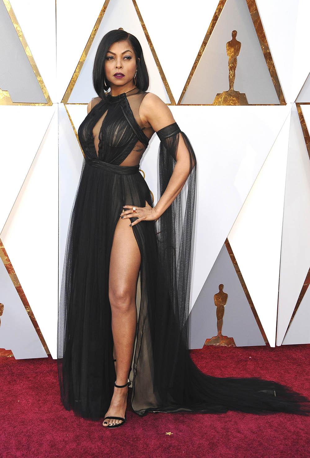Taraji P Henson At The 90th Academy Awards Sandra Rose