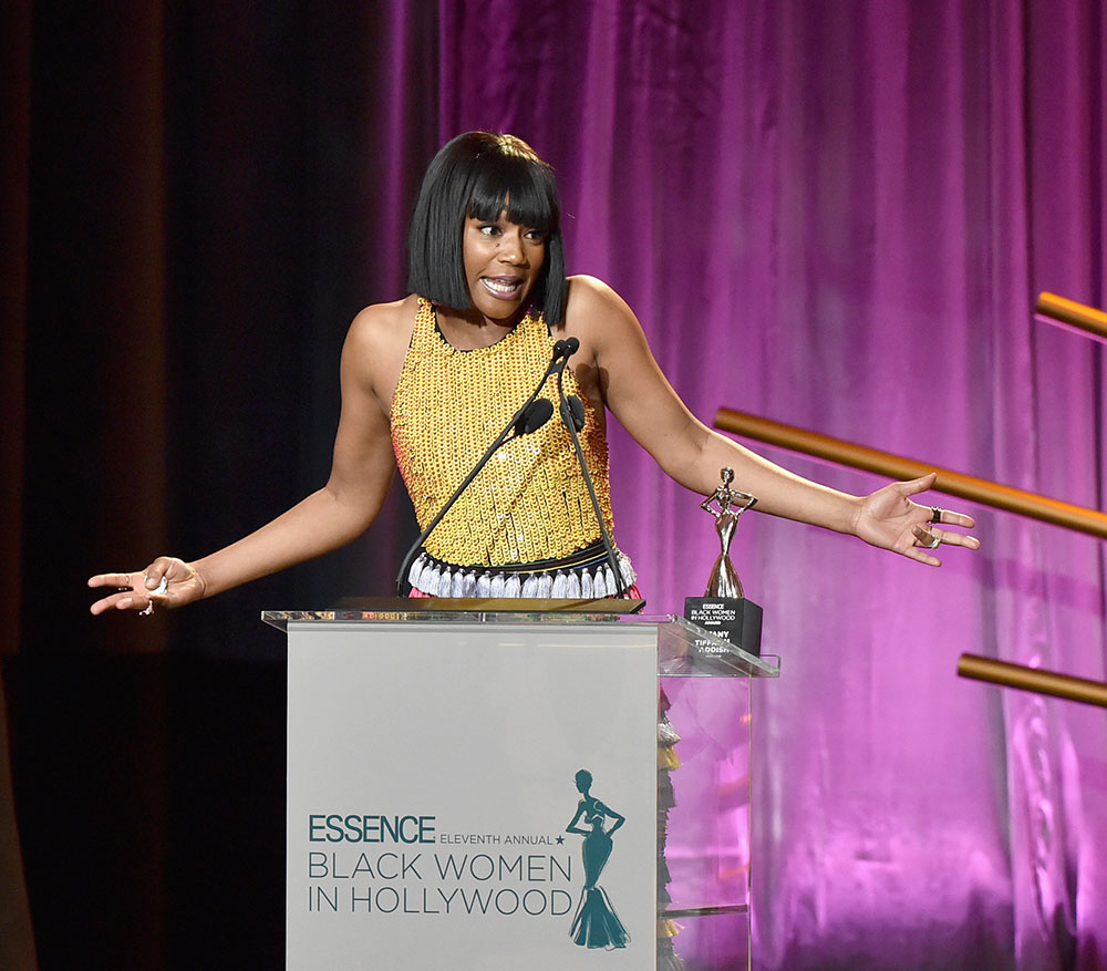 Tiffany Haddish gives acceptance speech at the 2018 Essence Black Women In Hollywood Awards Luncheo