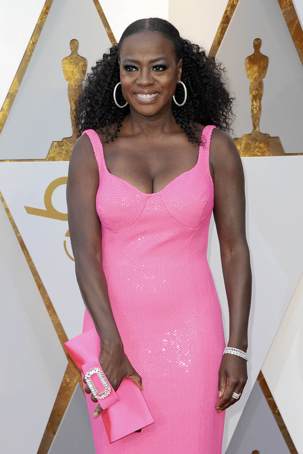 Viola Davis at the 90th Annual Academy Awards