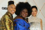 Lena Waithe, Gabourey Sidibe, Tessa Thompson attends the 2018 Essence Black Women In Hollywood
