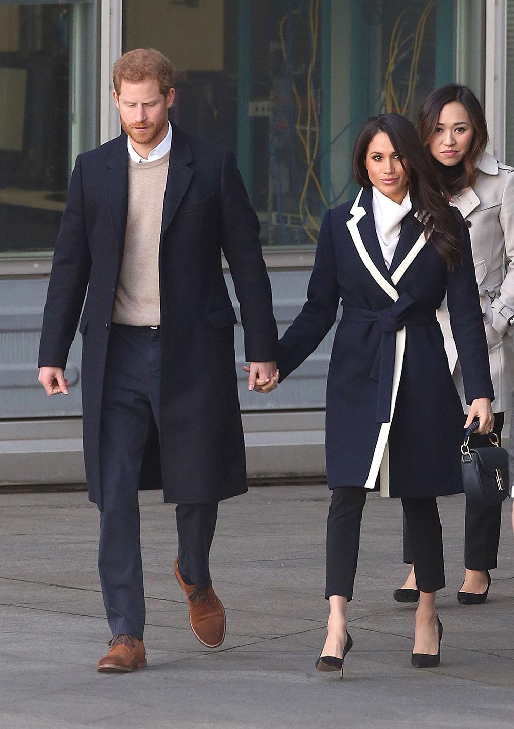 Prince Harry and Meghan Markle visit Birmingham