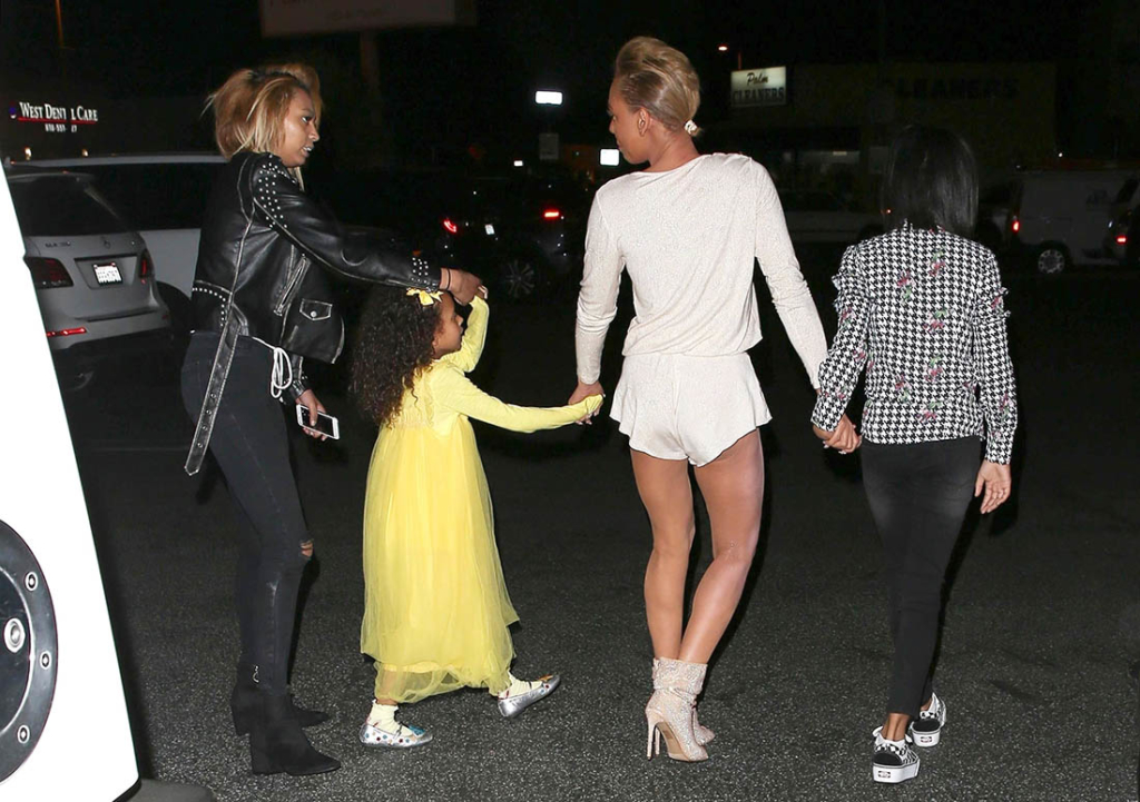Mel B, Phoenix, Madison, Angel Iris Brown
