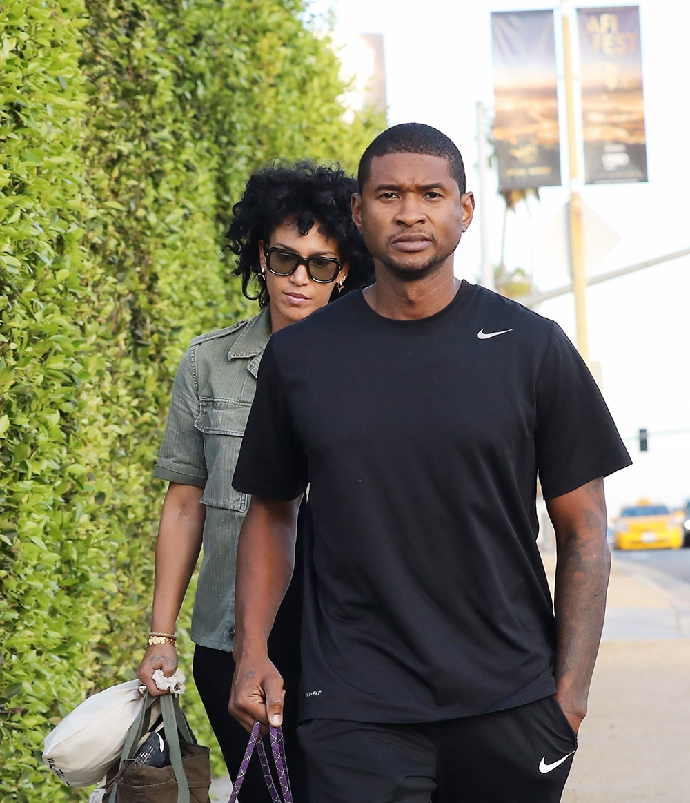Usher's Wife Grace Miguel Files for Divorce | Sandra Rose