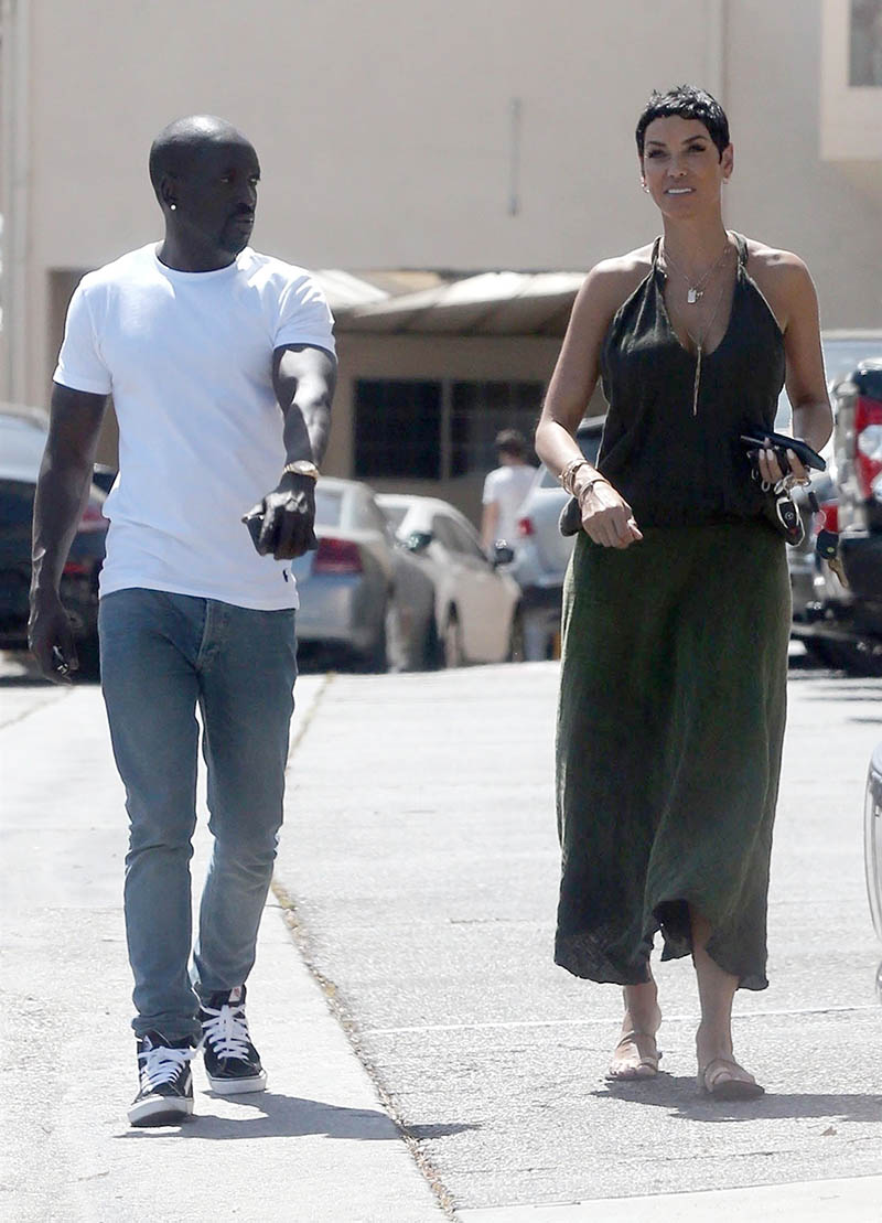 Nicole Murphy Spotted Out For Lunch With Bu Thiam Sandra