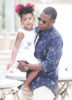 Blue Ivy and JAY-Z