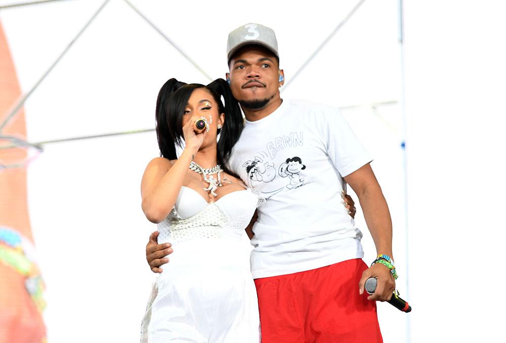 Cardi B, Chance The Rapper