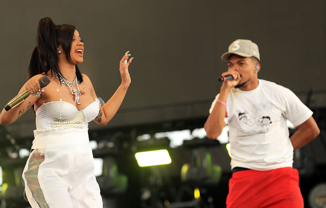 Cardi B, Cardi B, Chance The Rapper