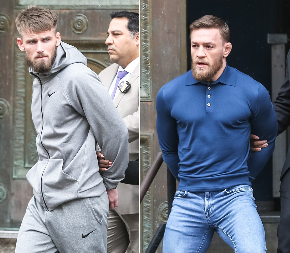 Cian Cowley, Conor McGregor