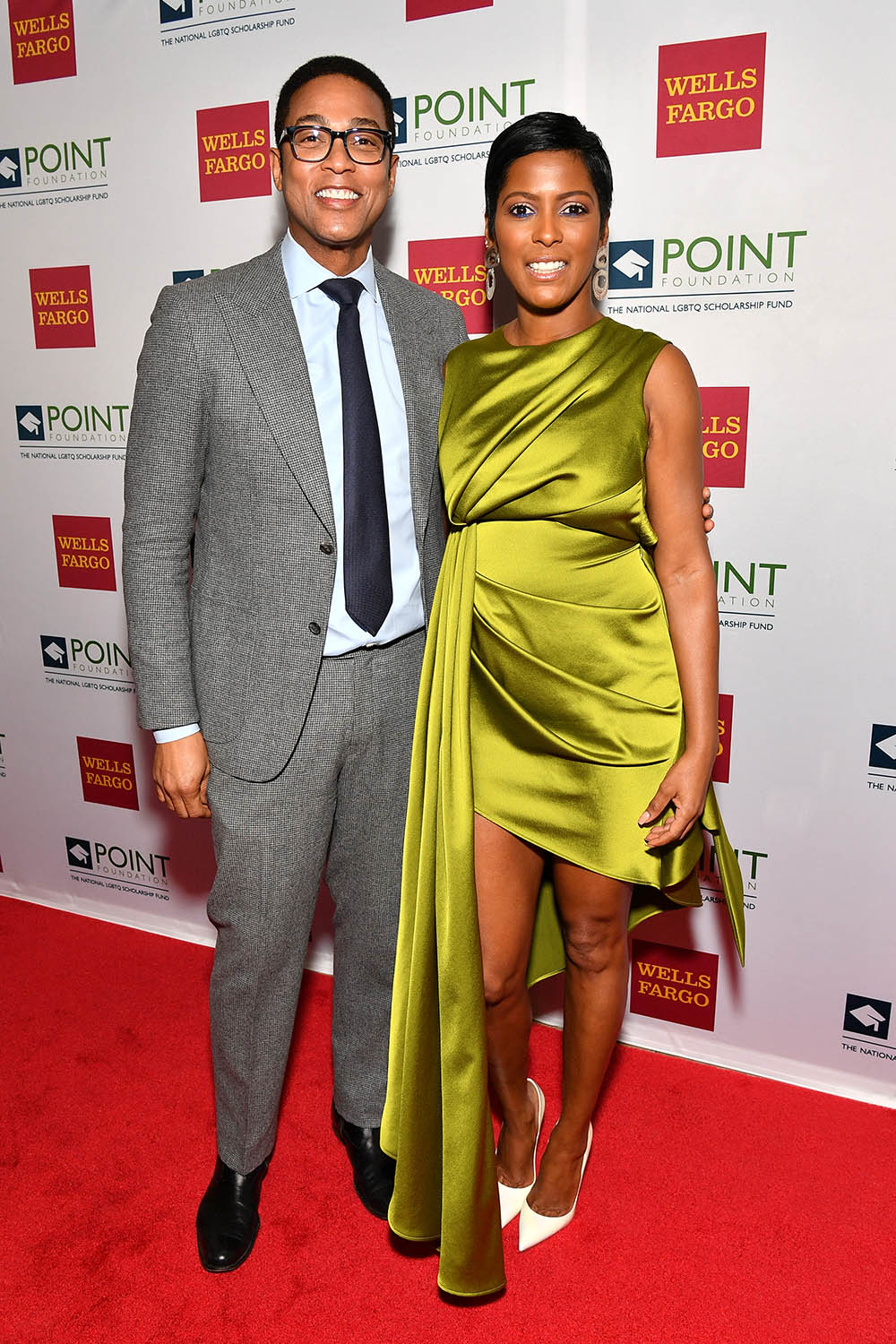 don lemon and tamron hall attend point foundation hosts annual point