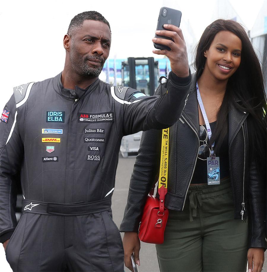 Idris Elba, Sabrina Dhowe