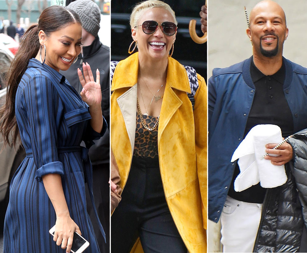 La La Anthony, Paula Patton, rapper Common