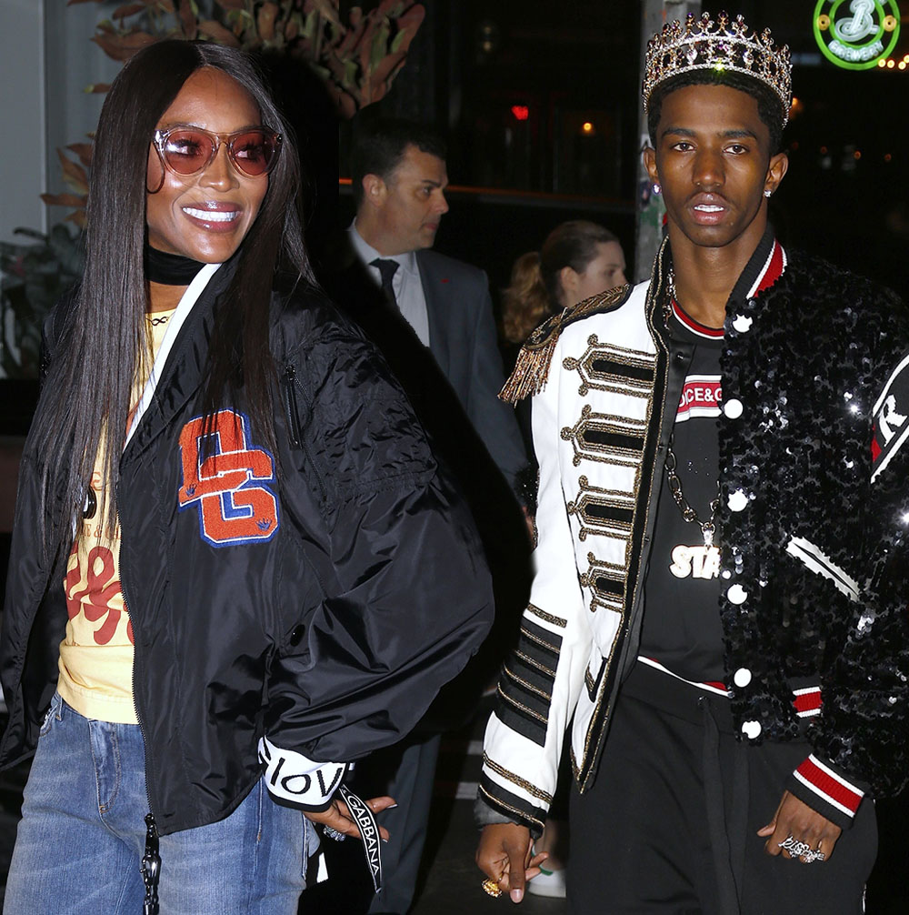 Naomi Campbell, Christian Combs