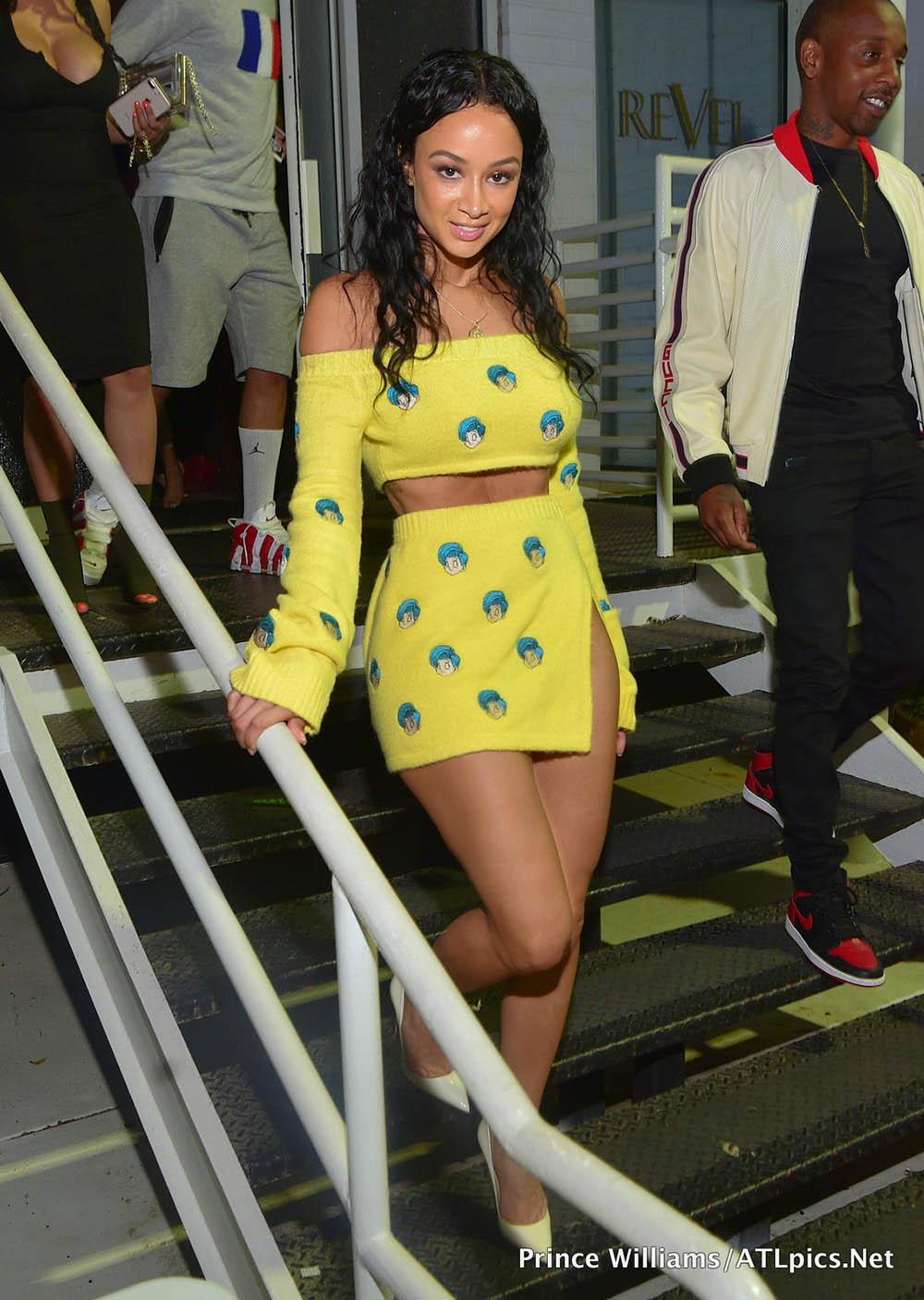 Celebrity Style: Draya Michele Wearing HMN ALNS (Human Aliens)