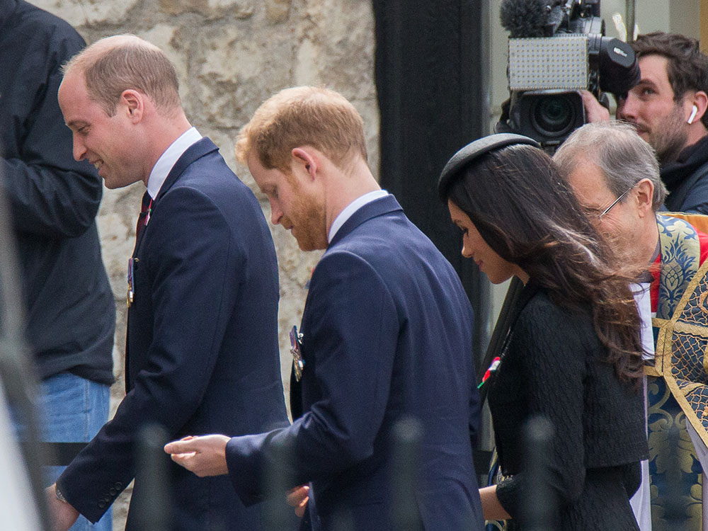 Prince William, Meghan Markle, Prince Harry