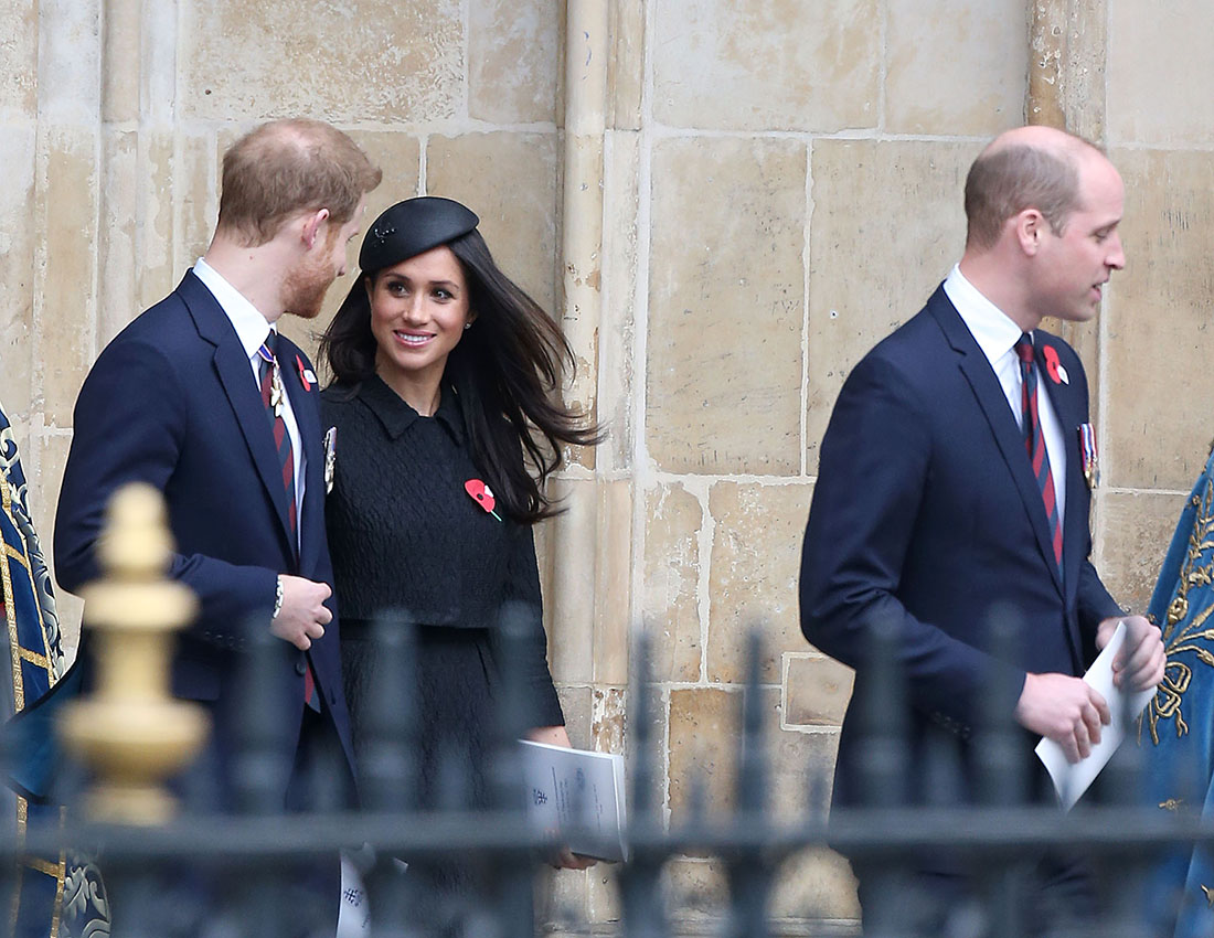 Meghan Markle, Prince Harry, Prince William