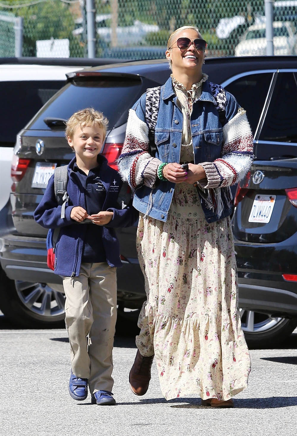 Paula Patton Gets In Some Quality Time With Her Son Julian