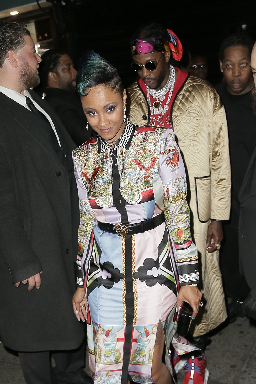Kesha Ward Amp 2 Chainz Arrive At The Met Gala Afterparty