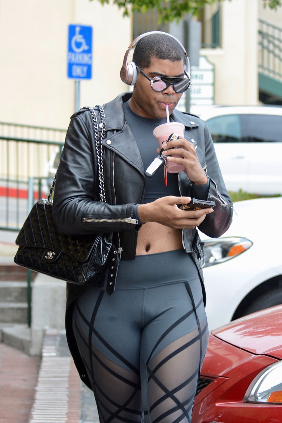 Beauty Tips For Hair: EJ Johnson Shows Off More Than Expected With His Skintight