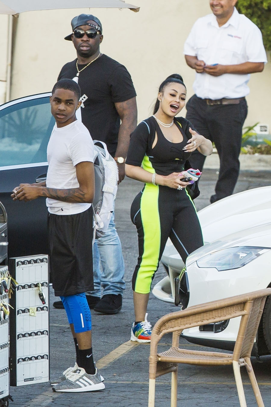 Celebs Out Amp About Blac Chyna Amp Ybn Almighty Jay Kevin