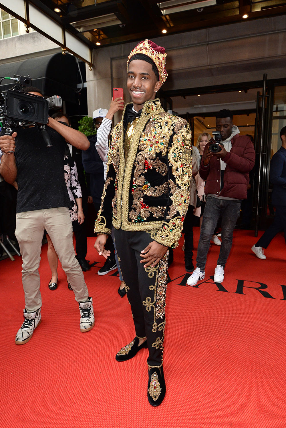 Christian Combs At The Mark Hotel Celebrates The 2018 Met
