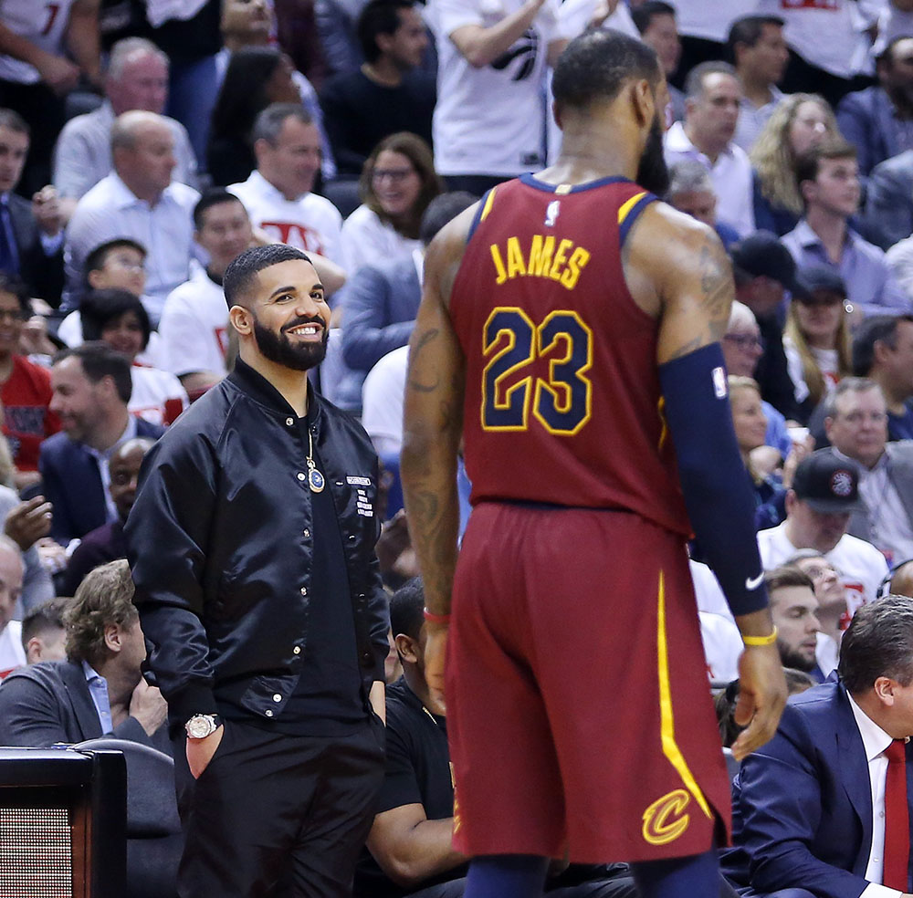 Drake, LeBron James