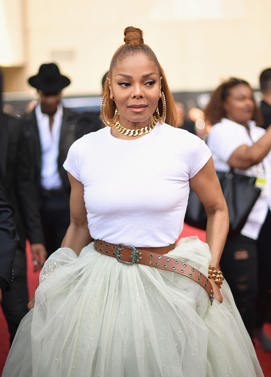 Janet Jackson Attends The 2018 Billboard Music Awards At