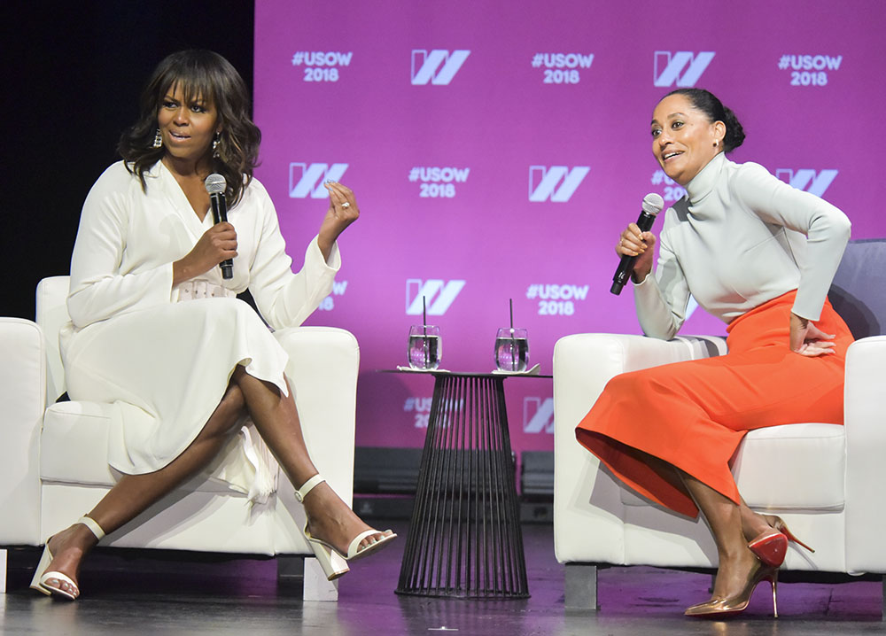 Michelle Obama, Tracee Ellis Ross
