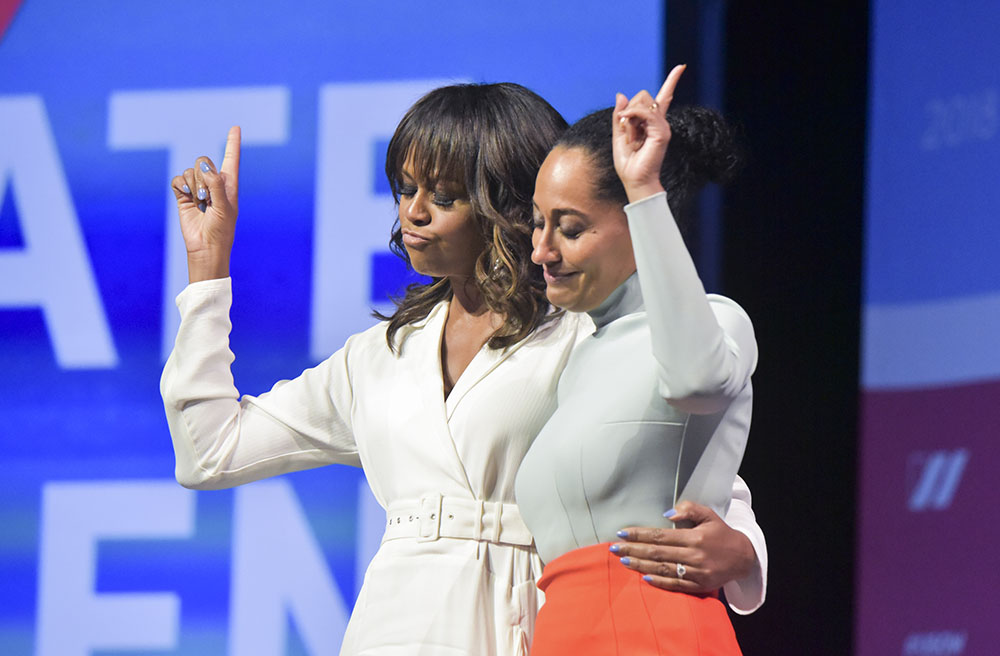 Michelle Obama, Tracee Ellis Ross