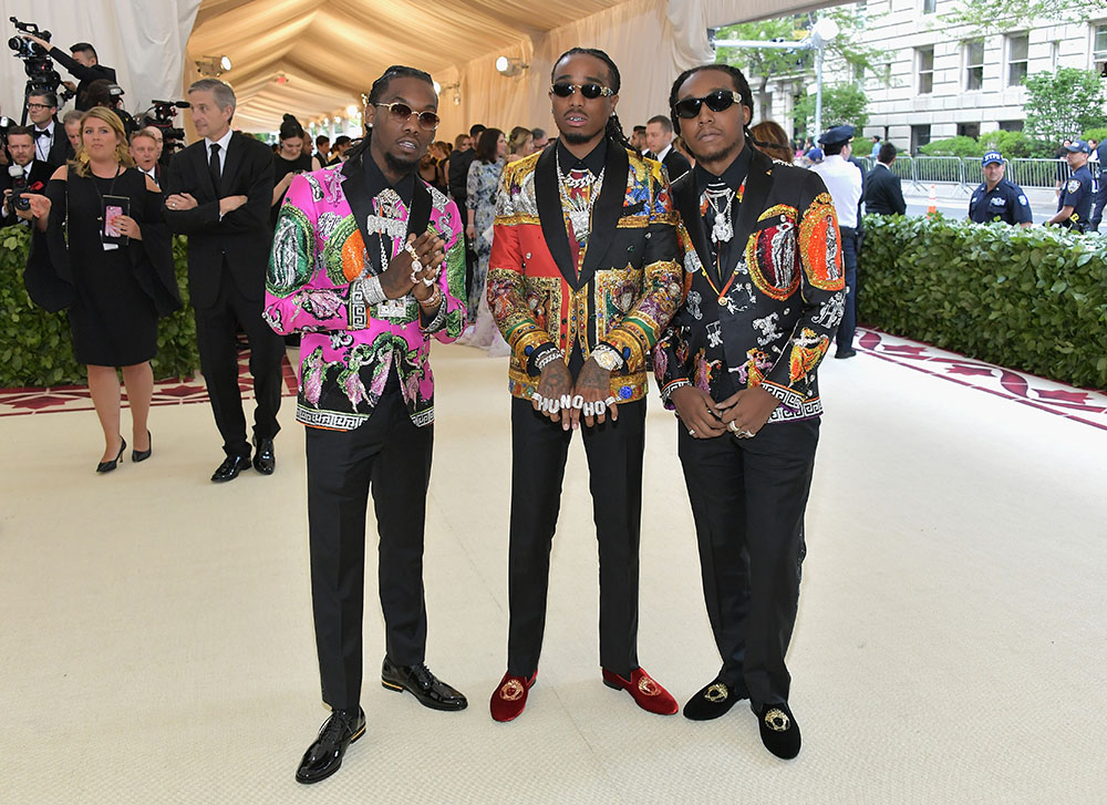 Migos at Met Gala - Heavenly Bodies | Sandra Rose