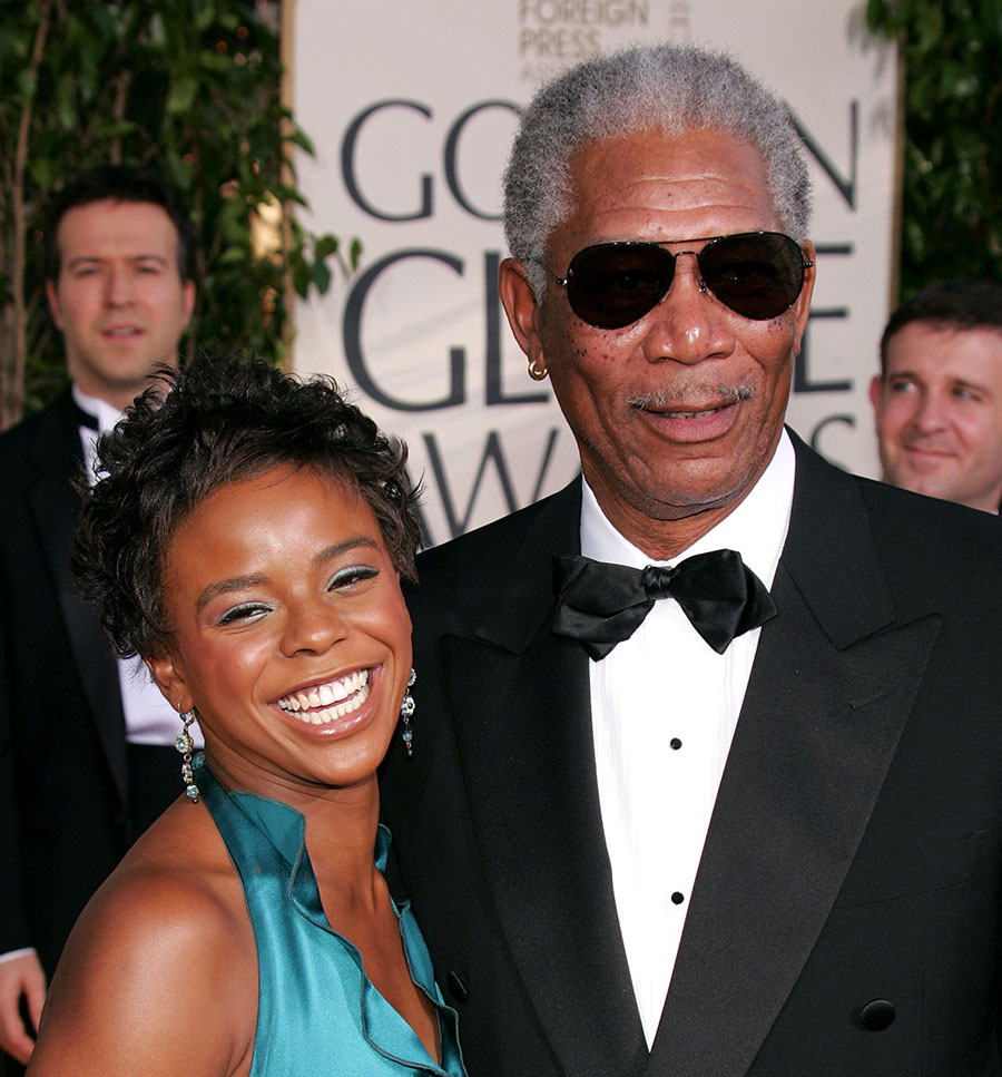 Morgan Freeman, E'Dena Hines