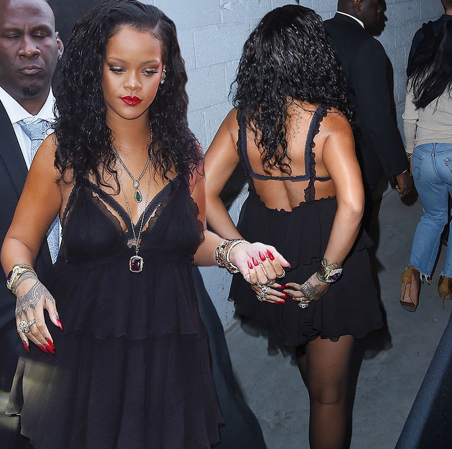 e8c87f6733be7a PICS  Rihanna at Savage X Fenty Lingerie Launch Party