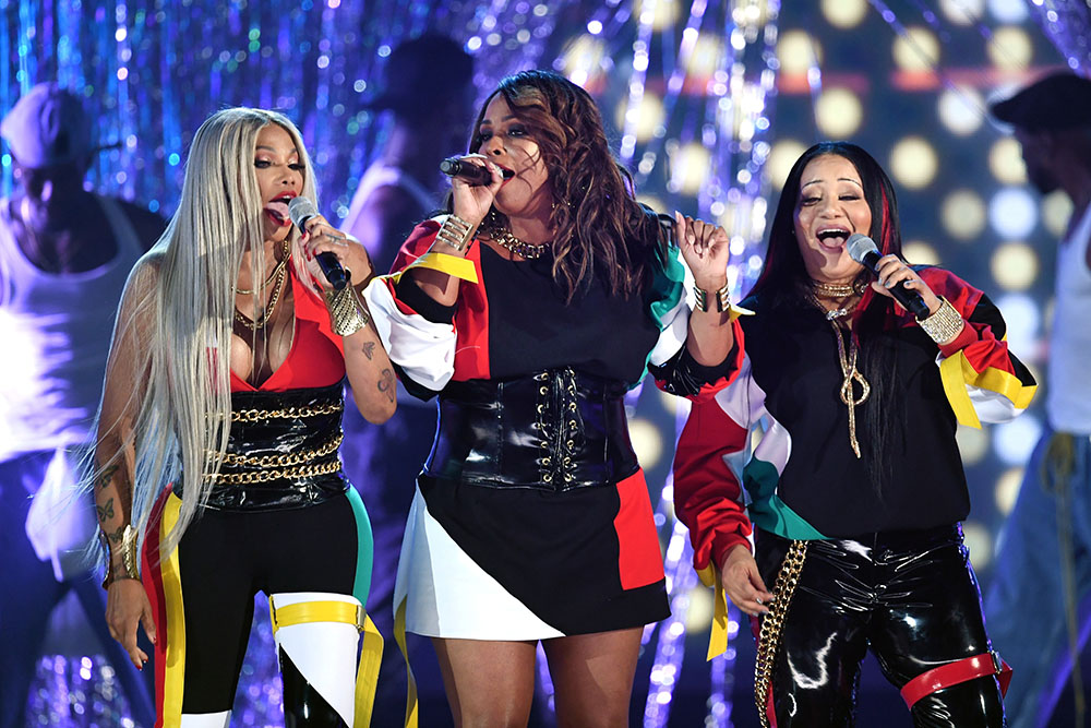 Salt N Pepa Perform Onstage During The 2018 Billboard
