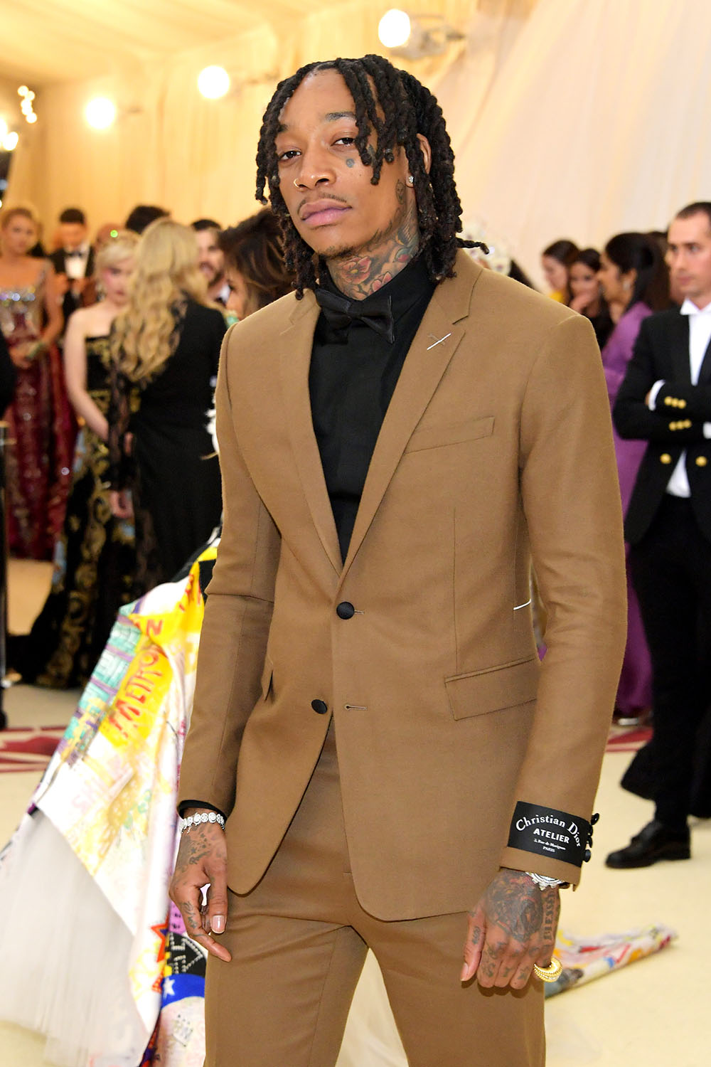 Wiz Khalifa At Met Gala Heavenly Bodies Sandra Rose