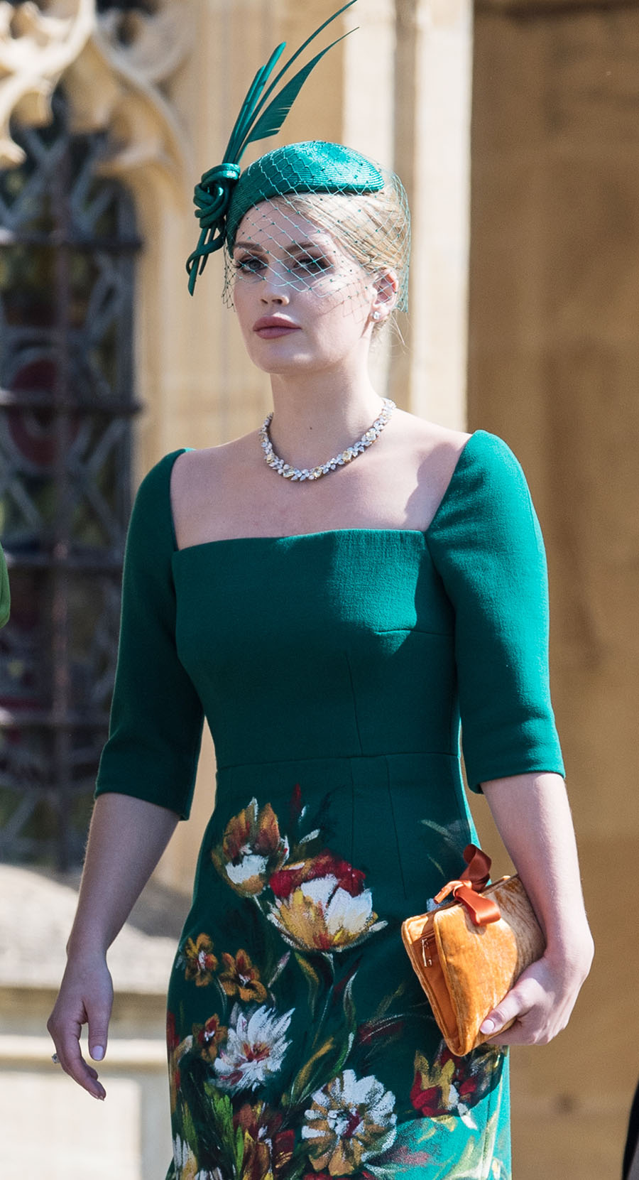 lady kitty spencer at the wedding of prince harry and