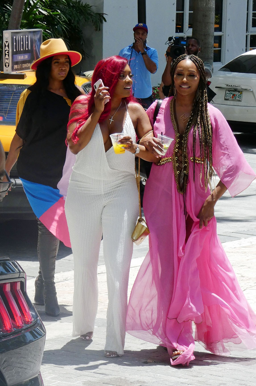 Real Housewives Of Atlanta Cast Members Attended The Grand