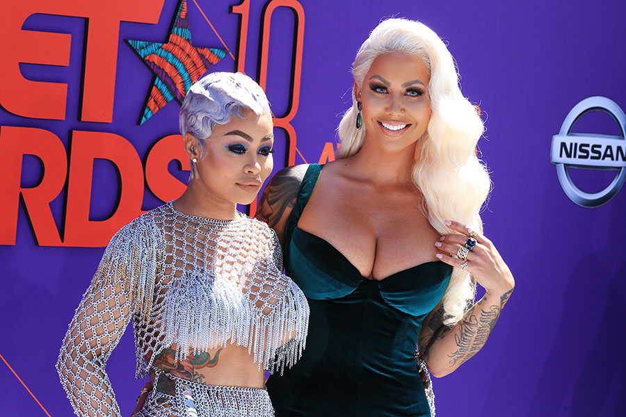 Blac Chyna L And Amber Rose Attend The 2018 Bet Awards