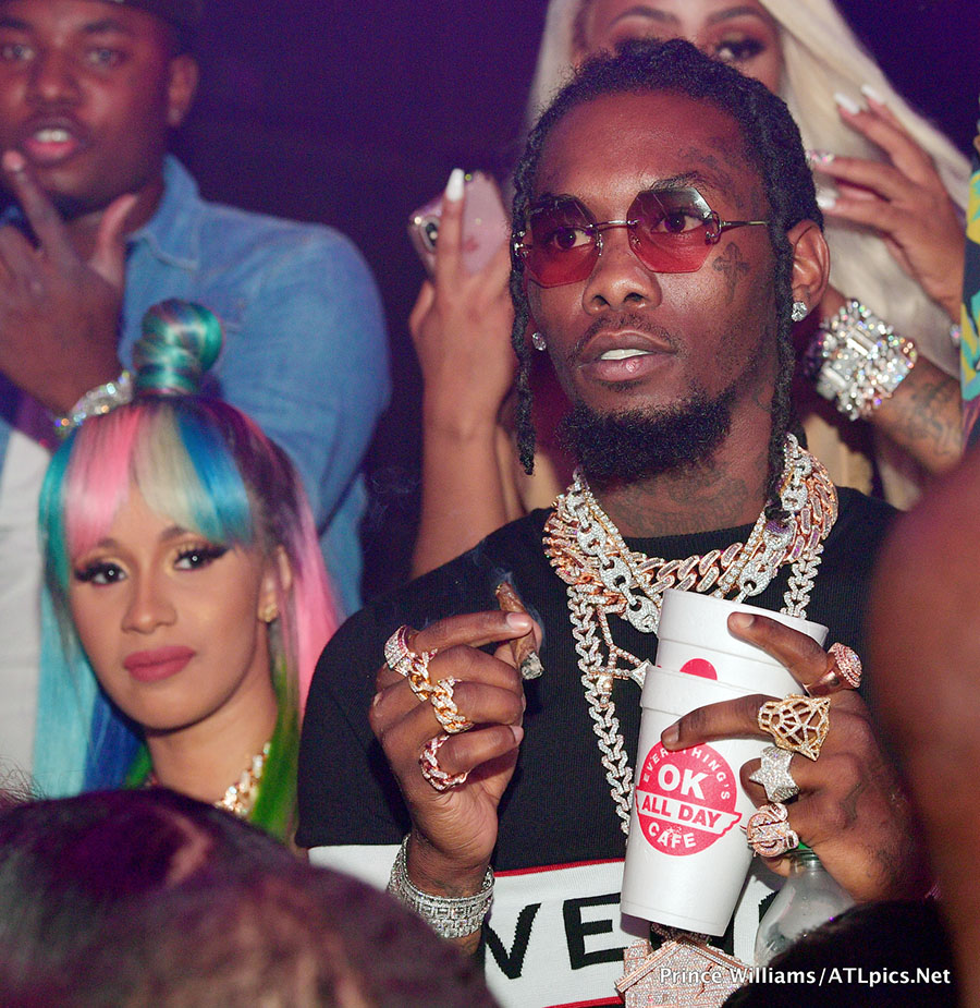 Cardi B Engaged To Offset After Rapper Proposes Live On: Cardi B Doesn't Care What You Think About Offset Smoking
