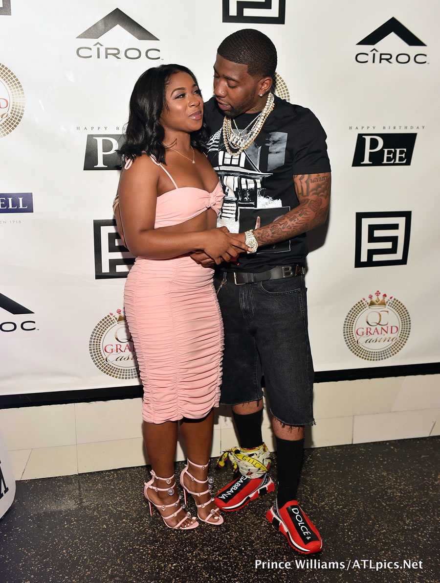 Reginae Carter And Rapper Yfn Lucci Attend Pierre Quot Pee
