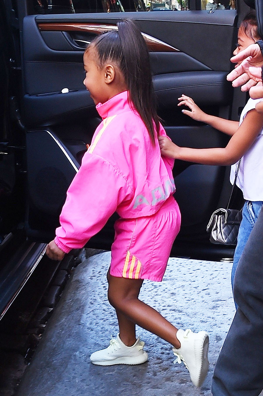 Kim Kardashian took daughter North West and Nori's little ...
