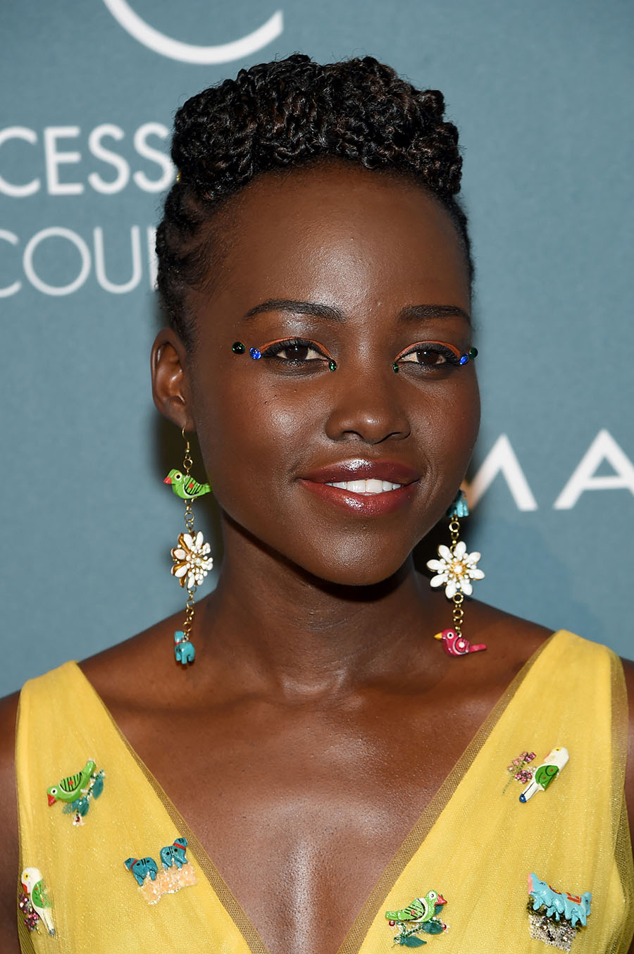 Lupita Nyong O Graced The Red Carpet At The 2018 Ace