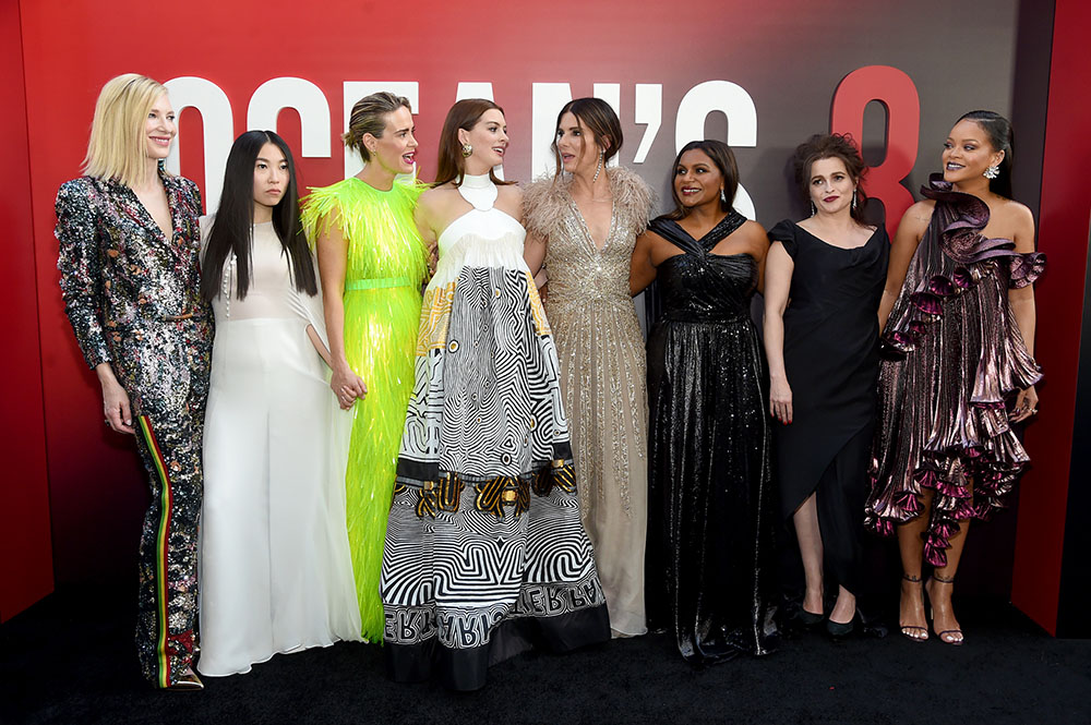 Imitation is Not the Sincerest Form of Flattery for Ocean's 8 кейт бланшетт