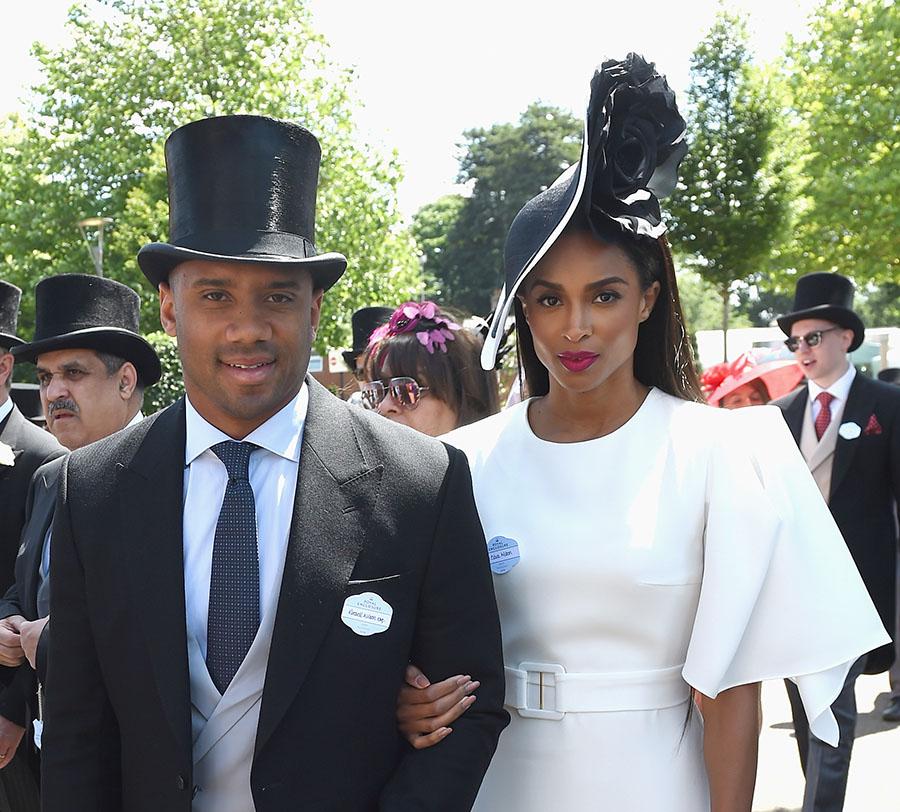 Celebrity Fashion Russell Amp Ciara Wilson At Royal Ascot