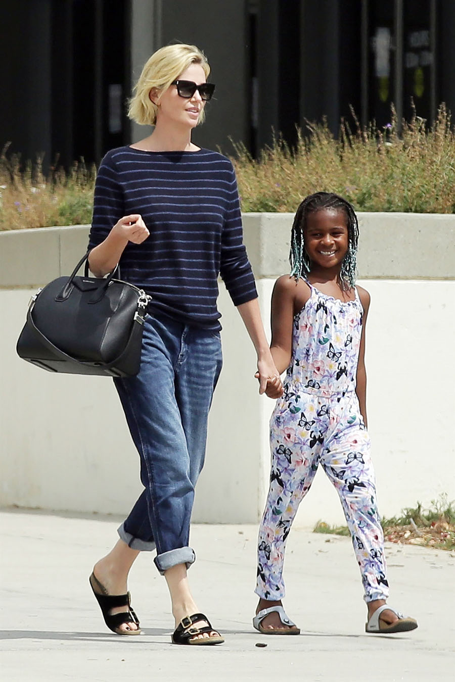 celebrity kids  charlize theron and son jackson