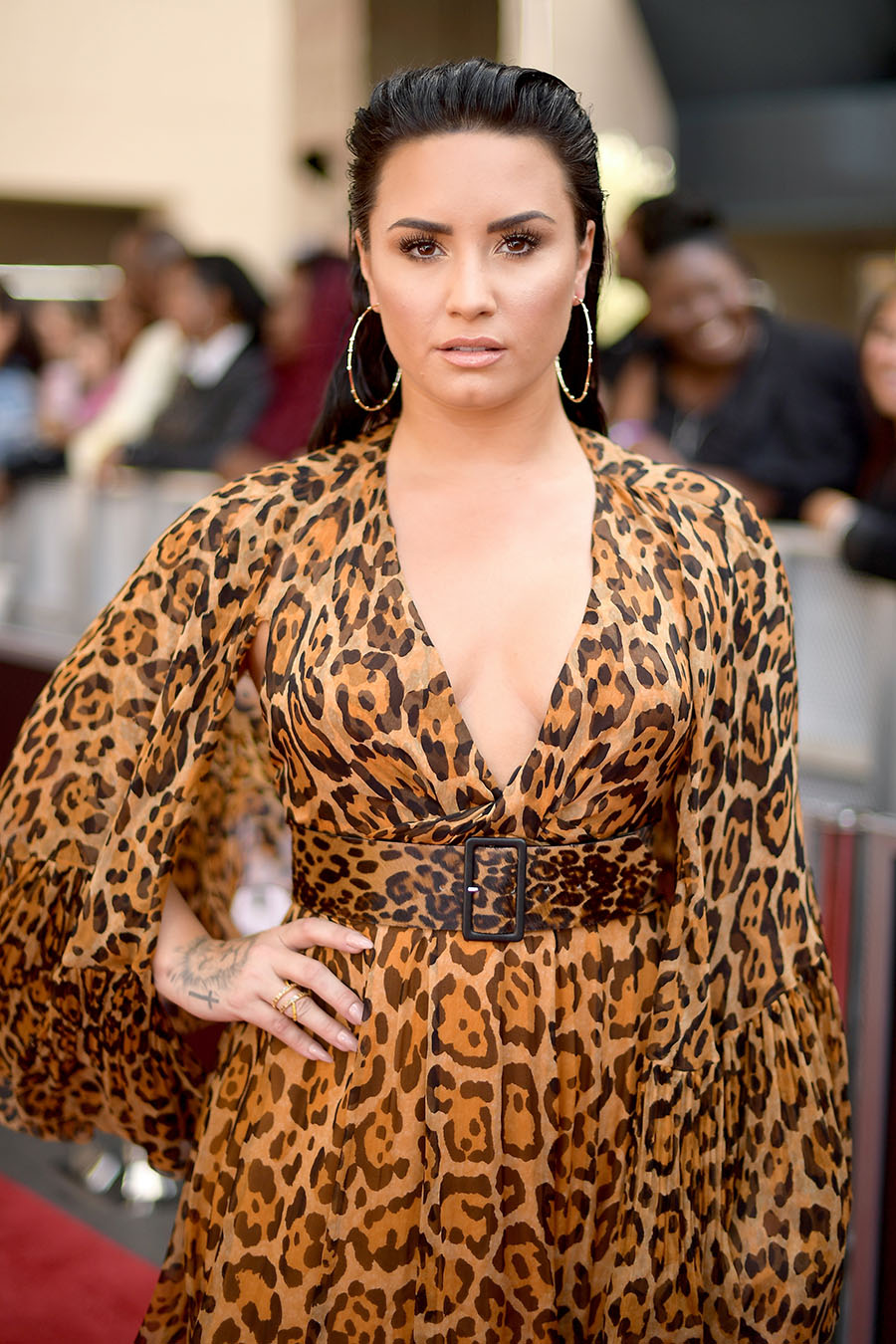 Demi Lovato attends the 2018 Billboard Music Awards at MGM Grand ...