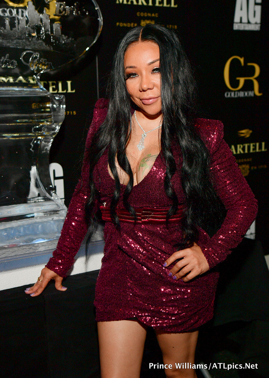 tameka  u201ctiny u201d harris celebrate her birthday at gold room