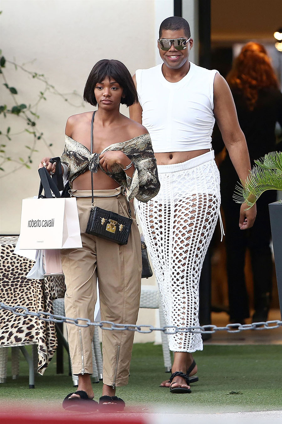 ej johnson and his sister elisa johnson were seen doing