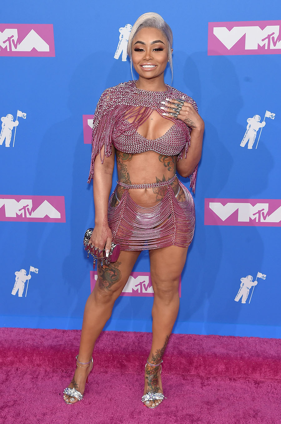 Blac Chyna Attends The 2018 Mtv Video Music Awards At