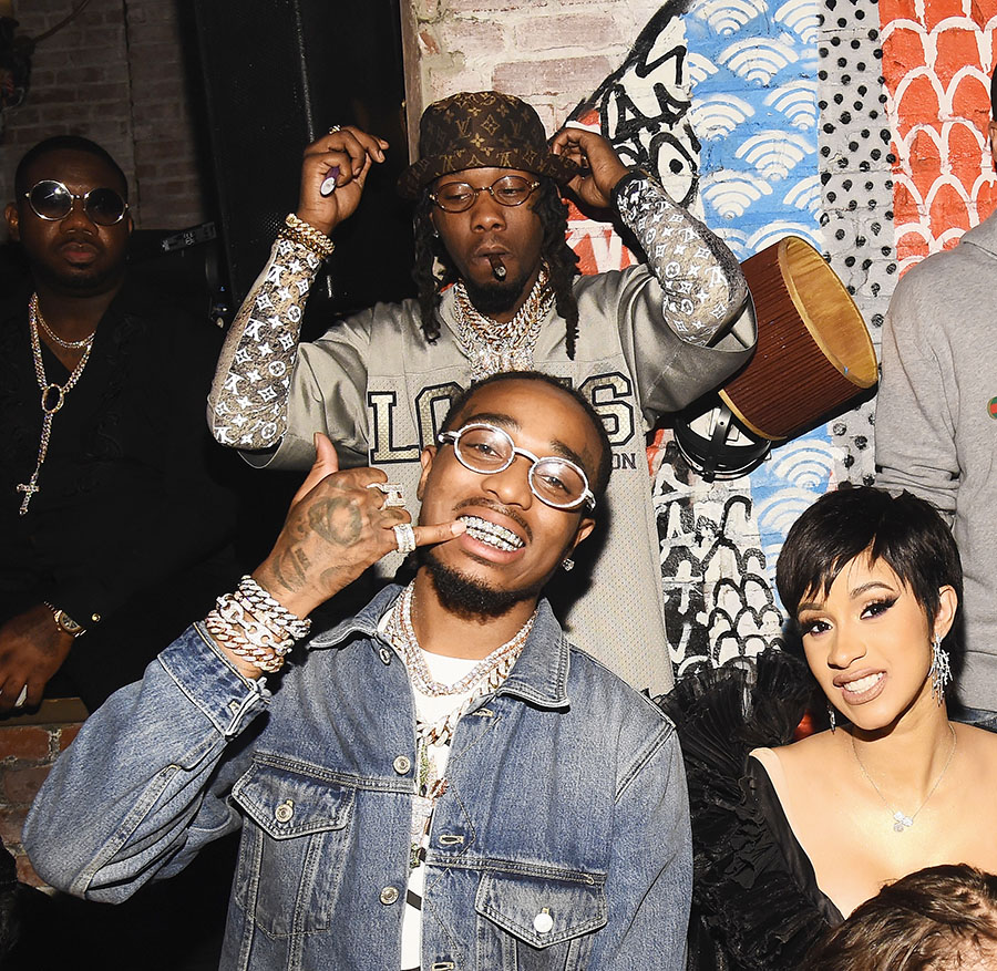 Divorce Records 2018: Offset, Quavo And Cardi B Attend As Atlantic Records