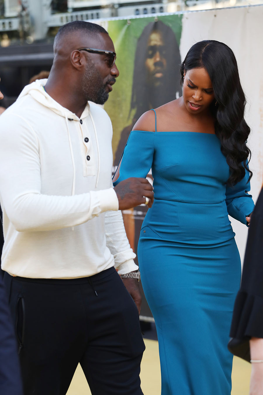 british power couple idris elba and sabrina dhowre
