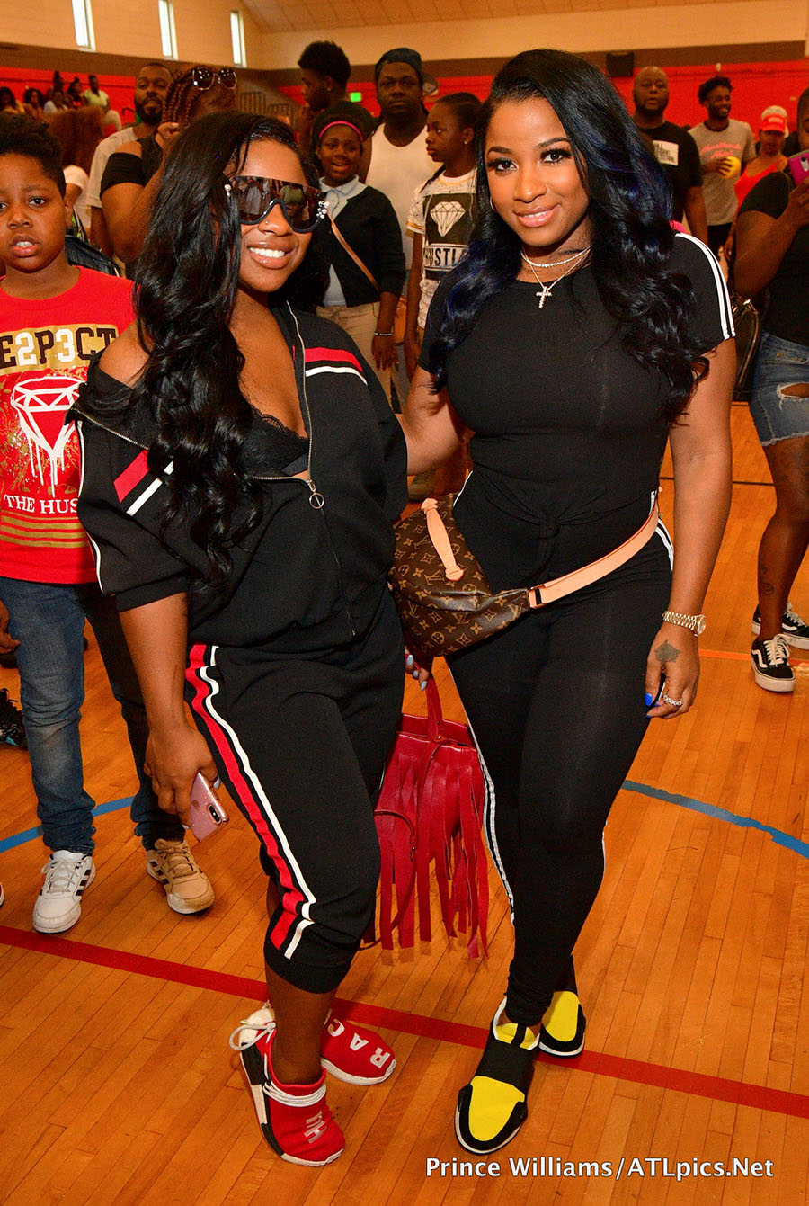 Celebs Out & About: Reginae Carter and YFN Lucci Backpack